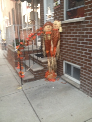 Halloween season in South Philly...sorry for the blur!